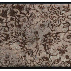 Vintage mintás lábtörlő – barna