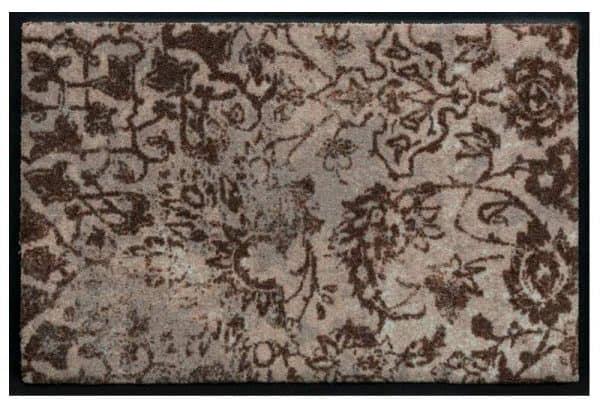 Prémium Vintage mintás lábtörlő - barna