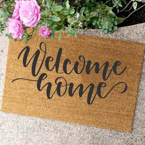 WELCOME HOME – KÓKUSZ LÁBTÖRLŐ – TÖBB MÉRETBEN