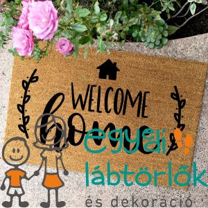 WELCOME HOME HÁZIKÓS – KÓKUSZ LÁBTÖRLŐ – TÖBB MÉRETBEN