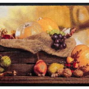 Évszakok prémium lábtörlő – őszi hangulat