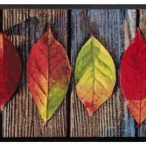 Évszakok prémium lábtörlő – levelek