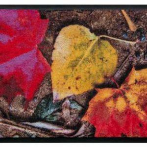 Évszakok prémium lábtörlő – őszi levelek