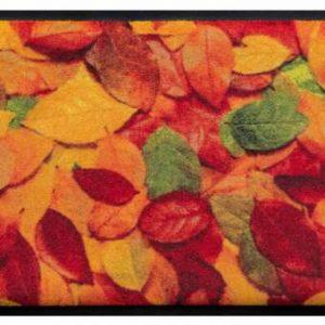 Évszakok prémium lábtörlő – őszi avar