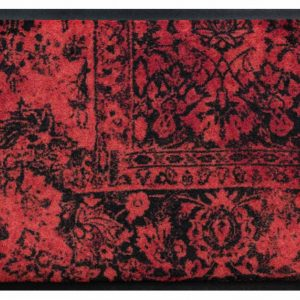 Vintage prémium lábtörlő – kopott piros