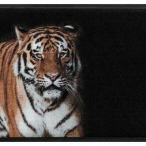 Állatos prémium lábtörlő – tigris
