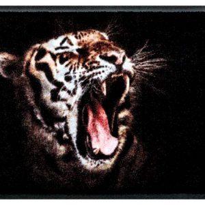 Állatos prémium lábtörlő – vad tigris