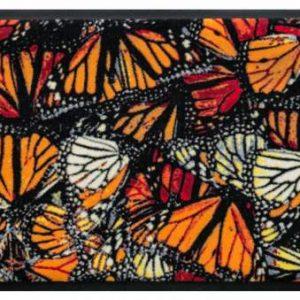 Állatos prémium lábtörlő – pillangók