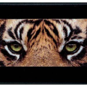 Állatos prémium lábtörlő – tigris szemek