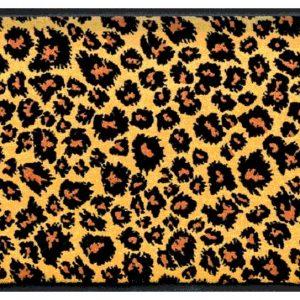 Állatos prémium lábtörlő – leopárd mintás