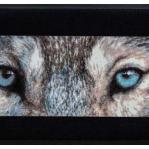 Állatos prémium lábtörlő – farkas