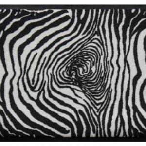 Állatos prémium lábtörlő – zebramintás