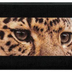 Állatos prémium lábtörlő – leopárd