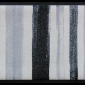 Csíkos prémium lábtörlő – szürke festékcsíkok
