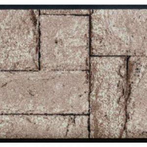 Elemek prémium lábtörlő – kő