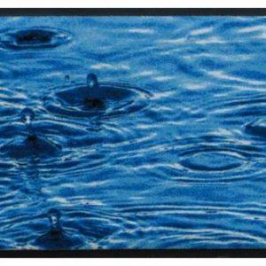 Elemek prémium lábtörlő – eső