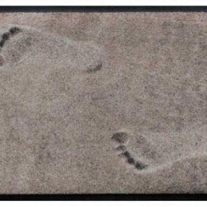 Elemek prémium lábtörlő – lábnyom