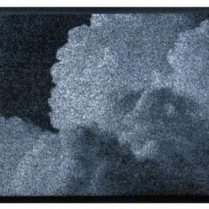 Elemek prémium lábtörlő – szürke felhő