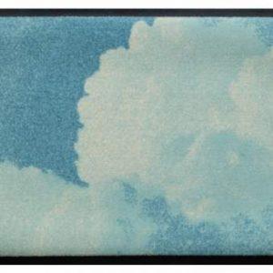 Elemek prémium lábtörlő – felhő