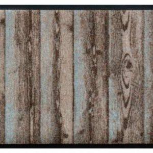 Elemek prémium lábtörlő – fa deszkák
