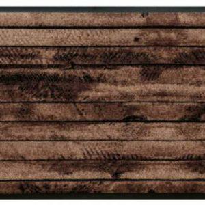 Elemek prémium lábtörlő – fa vízszintes
