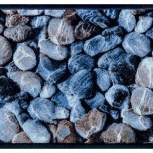 Elemek prémium lábtörlő – kavicsok víz alatt