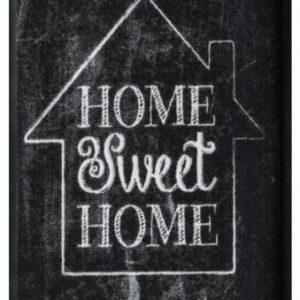 Elegáns prémium lábtörlő – home sweet home