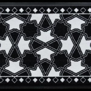 Elegáns prémium lábtörlő – csillagok