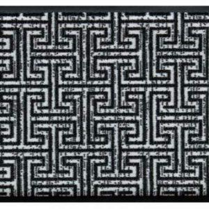 Elegáns prémium lábtörlő – labirintus