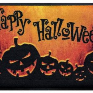 Ünnepi prémium lábtörlő – Happy Halloween