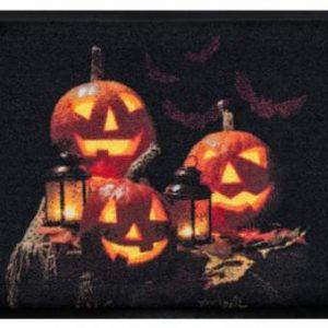Ünnepi prémium lábtörlő – halloween