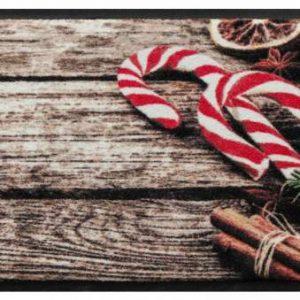 Ünnepi prémium lábtörlő – karácsony