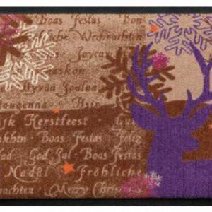 Ünnepi prémium lábtörlő – Boldog Karácsonyt!