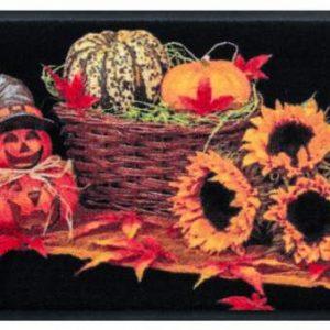 Ünnepi prémium lábtörlő – halloween díszek