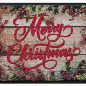 Ünnepi prémium lábtörlő – merry christmas