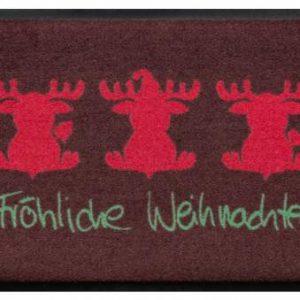 Ünnepi prémium lábtörlő – Fröhliche Weihnachten