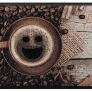 Konyhai prémium lábtörlő – kávé