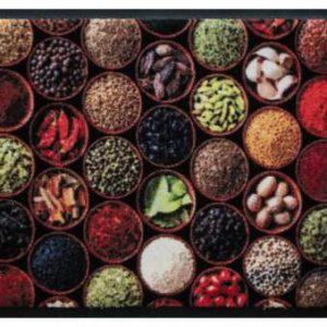Konyhai prémium lábtörlő – fűszerek