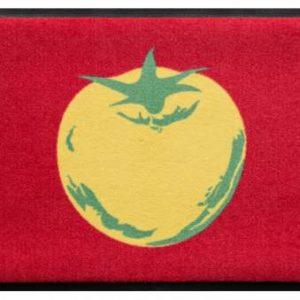 Konyhai prémium lábtörlő – sárga paradicsom