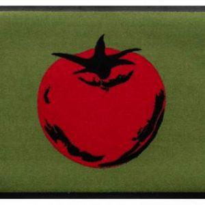 Konyhai prémium lábtörlő – piros paradicsom