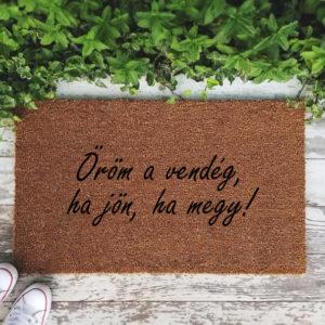 Öröm a vendég… – FELRATOS KÓKUSZ LÁBTÖRLŐ – TÖBB MÉRETBEN